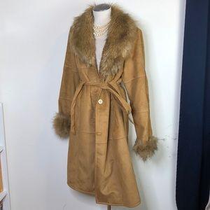 Penny Lane almost famous faux fur & suede jacket